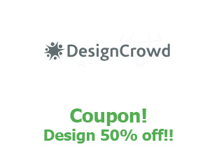 Promotional codes and coupons Design Crowd save up to 50%