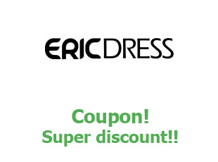 Promotional codes EricDress more than 15%