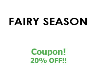 Discount coupon Fairy Season save up to 20%