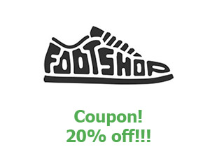Discounts FootShop 20% off