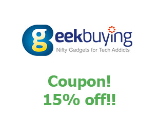 Promotional codes and coupons Geek Buying