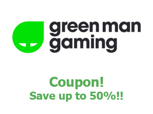 Coupons Green Man Gaming save up to 25%