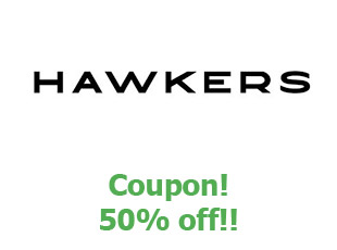 Promotional codes and coupons Hawkers save up to 20%