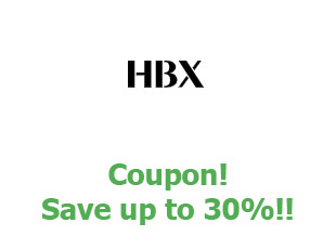 Discounts HBX save up to 30%