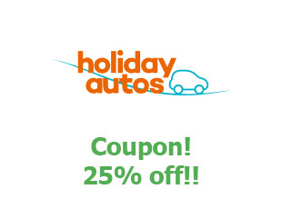 Discount coupon Holiday Autos save up to 20%