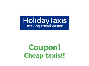 Promotional codes and coupons Holiday Taxis save up to 35%