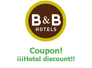 Coupons B&B Hotels 10% off