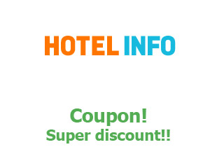 Promotional codes Hotel.info 20 euros off