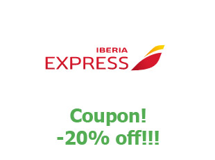 Promotional codes Iberia Express save up to 25%