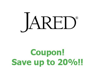 Promotional codes Jared save up to 20%