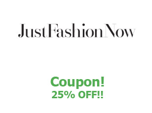 Coupons Just Fashion Now save up to 25%