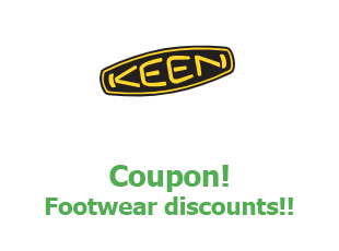 Discount coupon Keen Footwear up to 30% off