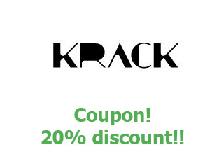 Discount code Krack save up to 20%