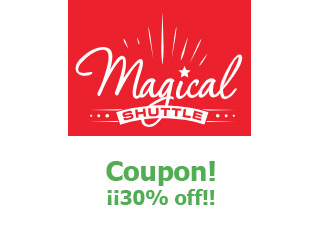 Coupons Magical Shuttle save up to 30%