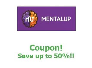 Coupons MentalUp save up to 50%
