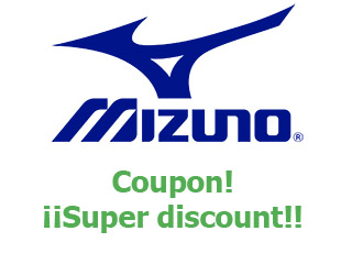 Discount code Mizuno save up to 35%