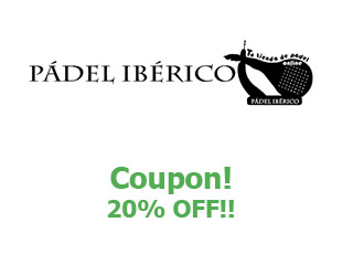 Promotional codes Padel Iberico save up to 20%
