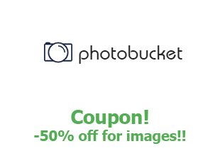 Promotional code Photobucket save up to 50%