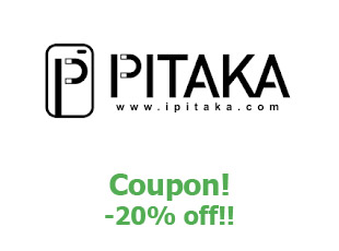 Promotional code Pitaka save up to 20%