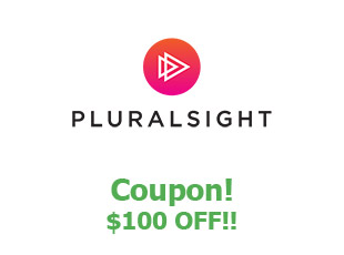 Discounts Pluralsight save up to 100$