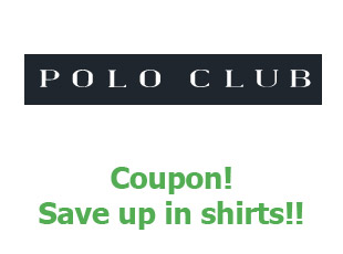 Promotional codes Polo Club up to 20% off