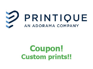 Promotional codes Printique save up to 50%