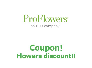 Coupons ProFlowers save up to 30%