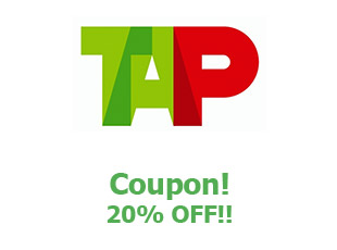 Promotional codes TAP save up to 20%