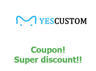 Promotional code YesCustom save up to 40%