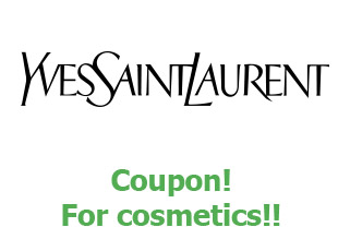 Coupons Yves Saint Laurent save up to 50%