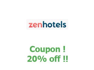 Discounts Zen Hotels save up to 20%