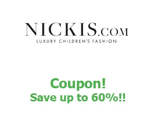 Promotional code Nickis save up to 60%