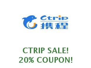 Promotional code Ctrip save up to 30$