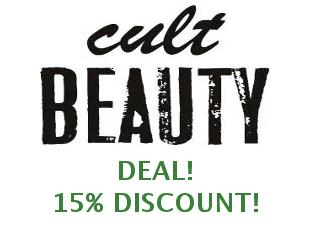 Discount code Cult Beauty 15% off
