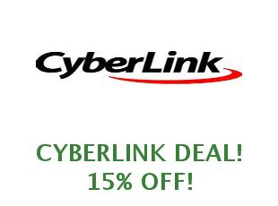 Promotional codes Cyberlink save up to 15%