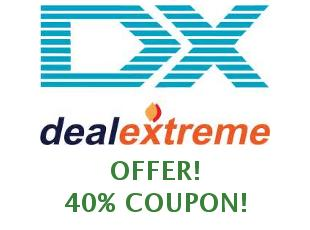 Promotional codes and coupons DealExtreme