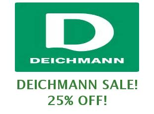 Promotional code Deichmann save up to 20%