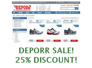 Promotional code Deporr save up to 15%
