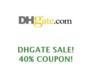 Promotional codes and coupons DHGate