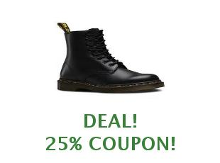 Discount coupon Dr. Martens save up to 10%