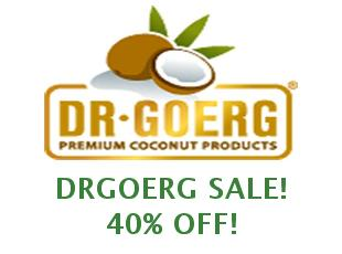 Promotional offers and codes DrGoerg save up to 10%