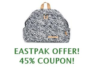 Discount coupon Eastpak save up to 30%