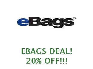 Promotional offers and codes eBags save up to 40%