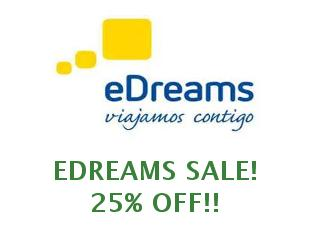 Promotional codes and coupons EDreams