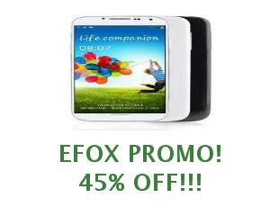 Discount coupon Efox save up to 10 euros