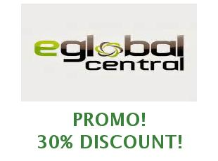 Discounts eGlobalCentral save up to 30 euros