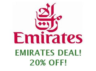 Discount coupons Emirates $50 Off