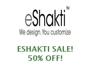 Promotional offers and codes eShakti save up to 40$