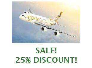 Discount code Etihad Airways save up to 12%