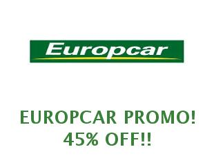 Promotional Code Europcar January 2019